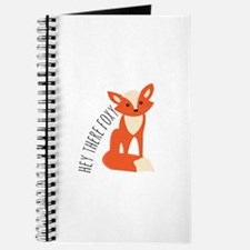 Hey There Foxy Journal