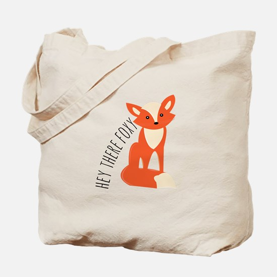 Hey There Foxy Tote Bag