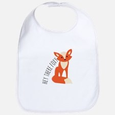 Hey There Foxy Bib