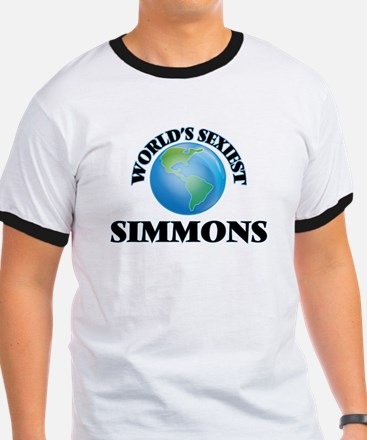 World's Sexiest Simmons T-Shirt