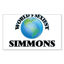 World's Sexiest Simmons Decal