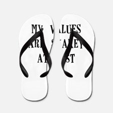 my values are shakey at best Flip Flops