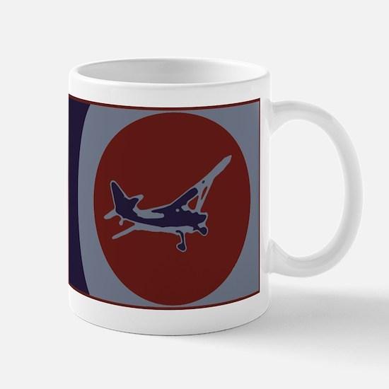 Airplane Fun (Red) Mug