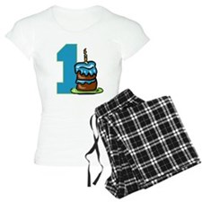 Cake with One Candle Pajamas