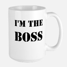 im the boss Mugs