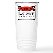 Funny Trucking Travel Mug