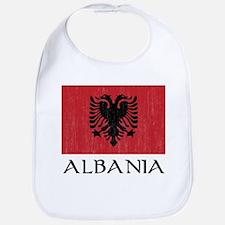Albania Flag Bib