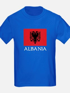 Albania Flag T