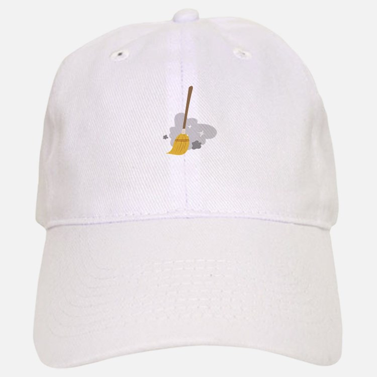 Sweep Broom Baseball Baseball Baseball Cap
