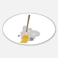 Sweep Broom Decal