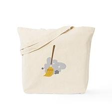 Sweep Broom Tote Bag