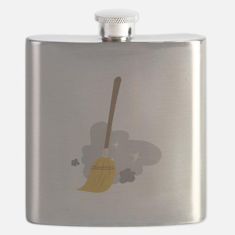 Sweep Broom Flask