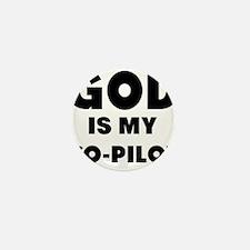 god is my co pilot Mini Button