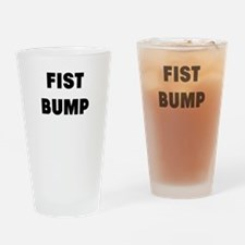fist bump Drinking Glass