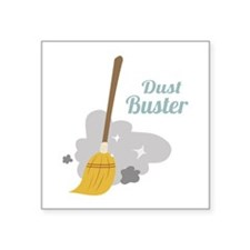 Dust Buster Sticker
