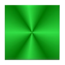 Green Shine Tile Coaster