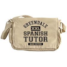 Greendale Spanish Tutor Messenger Bag