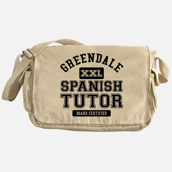 Greendale Spanish Tutor Messenger Bag
