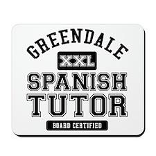 Greendale Spanish Tutor Mousepad