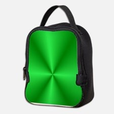 Green Shine Neoprene Lunch Bag