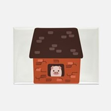 Brick House Pig Magnets
