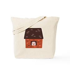 Brick House Pig Tote Bag