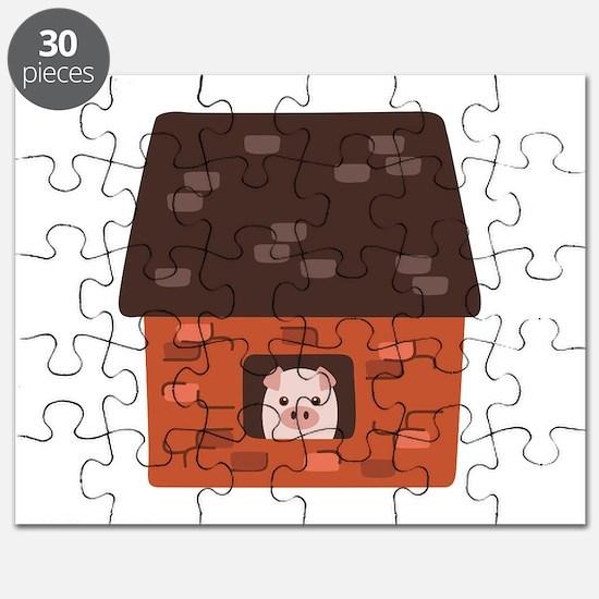 Brick House Pig Puzzle