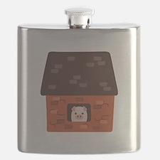 Brick House Pig Flask