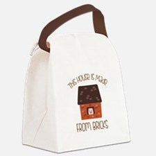 Made From Bricks Canvas Lunch Bag
