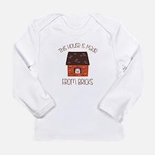 Made From Bricks Long Sleeve T-Shirt