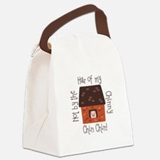 Hair Of My Chin Canvas Lunch Bag