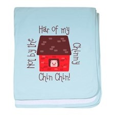Hair Of My Chin baby blanket