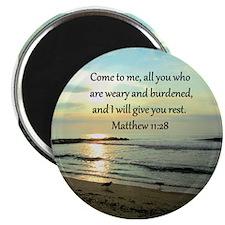 MATTHEW 11:28 Magnet