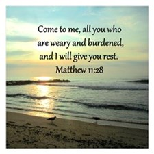 MATTHEW 11:28 Invitations