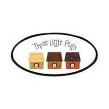 Three Little Pigs Patches