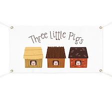 Three Little Pigs Banner