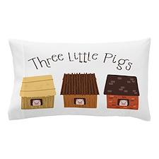 Three Little Pigs Pillow Case