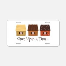 Once Upon A Time Aluminum License Plate