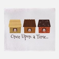 Once Upon A Time Throw Blanket