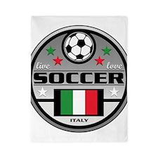 Live Love Soccer Italy Twin Duvet