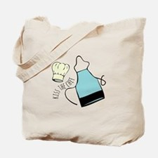 Kiss The Chef Tote Bag