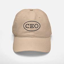 CEO Oval Baseball Baseball Cap