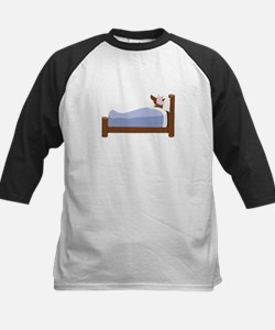 Wolf In Bed Baseball Jersey