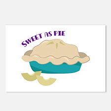 Sweet As Pie Postcards (Package of 8)