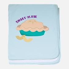 Sweet As Pie baby blanket