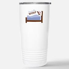 Beware The Wolf Travel Mug