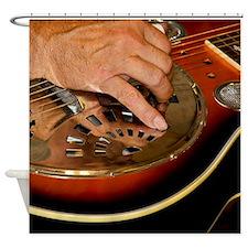 Steel Guitar Shower Curtain