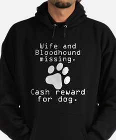 Wife And Bloodhound Missing Hoodie