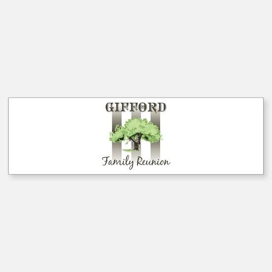 GIFFORD family reunion (tree) Bumper Bumper Bumper Sticker