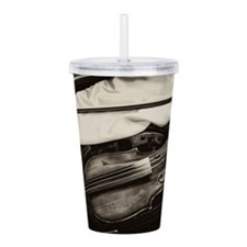Old Violins Acrylic Double-Wall Tumbler